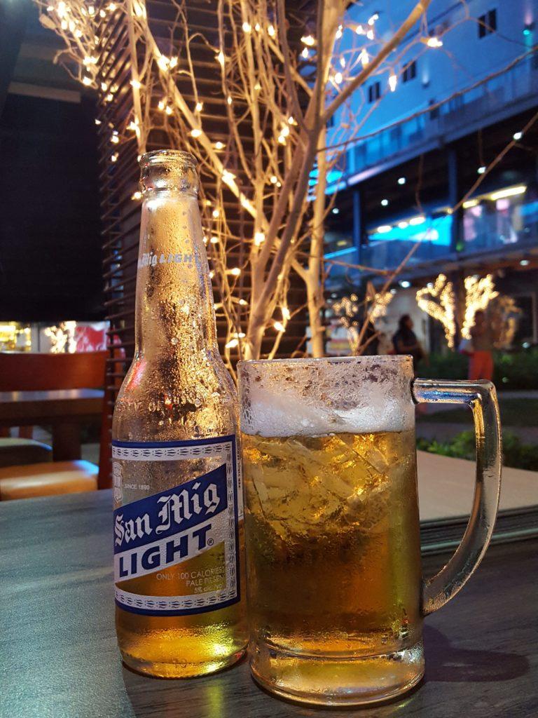 のんべのビール