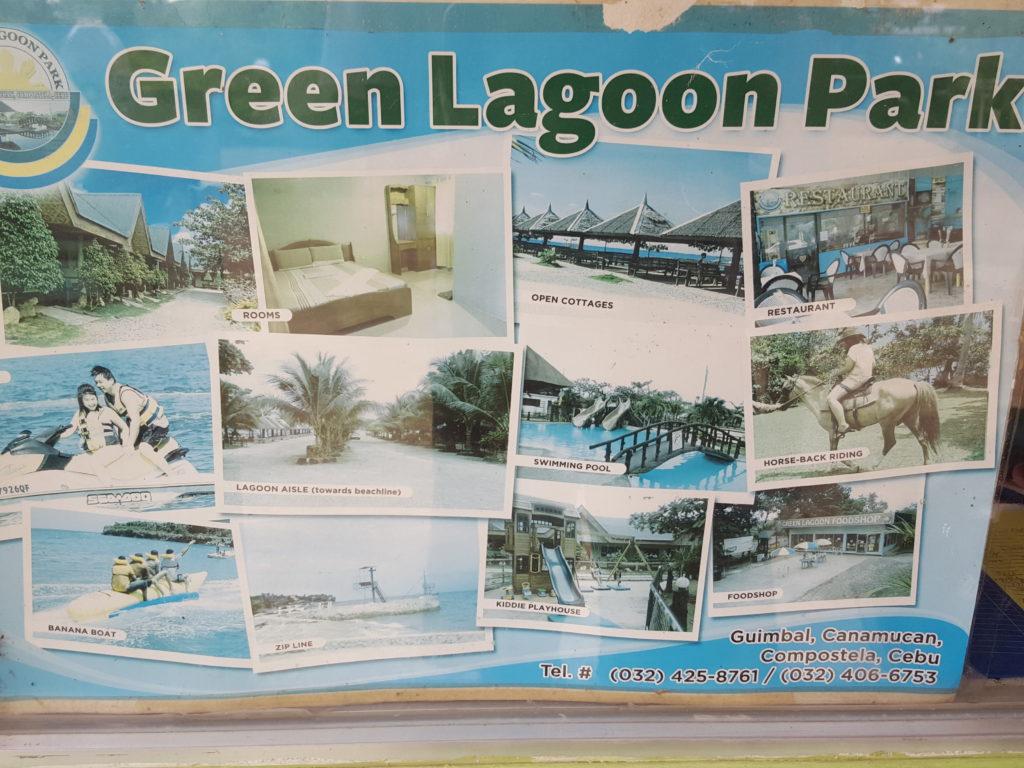 グリーンラグーンパーク地図