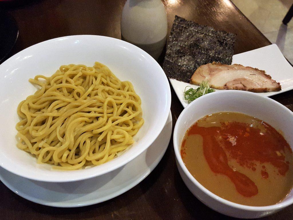 バリカタつけ麺赤