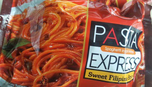 結構イケます!Nissin Pasta Express Sweet Filipino Style