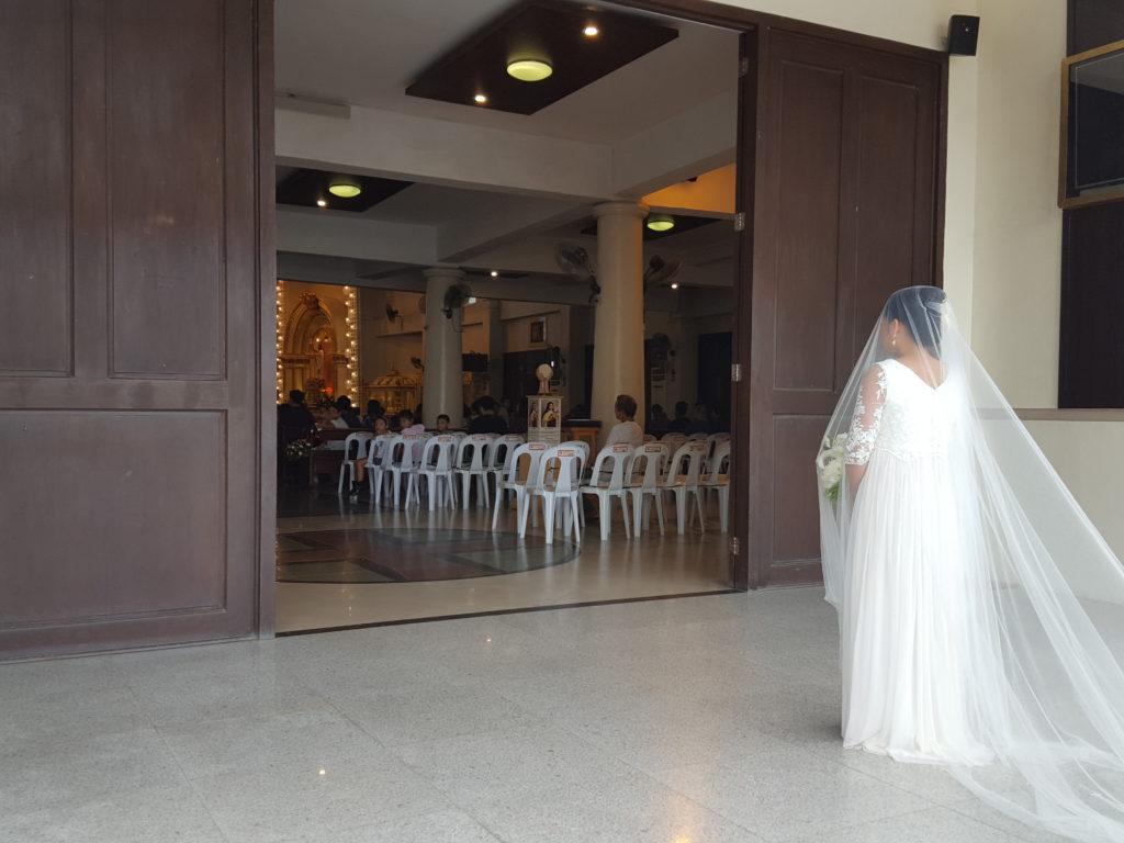フィリピンでの結婚式02