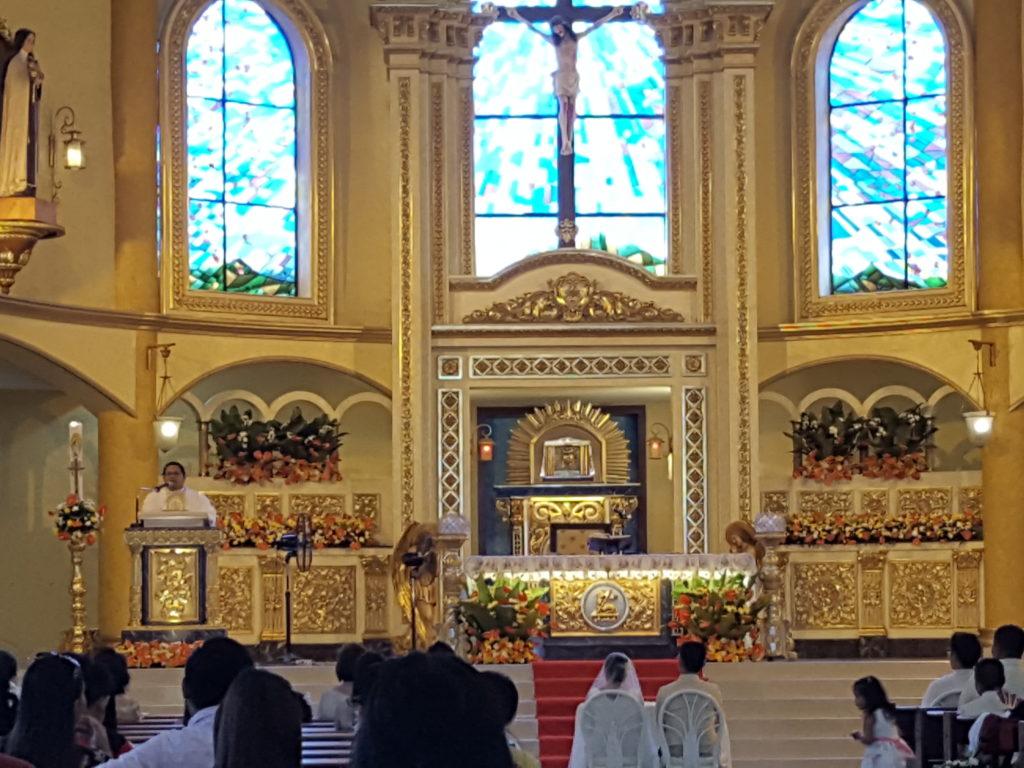 フィリピンでの結婚式01