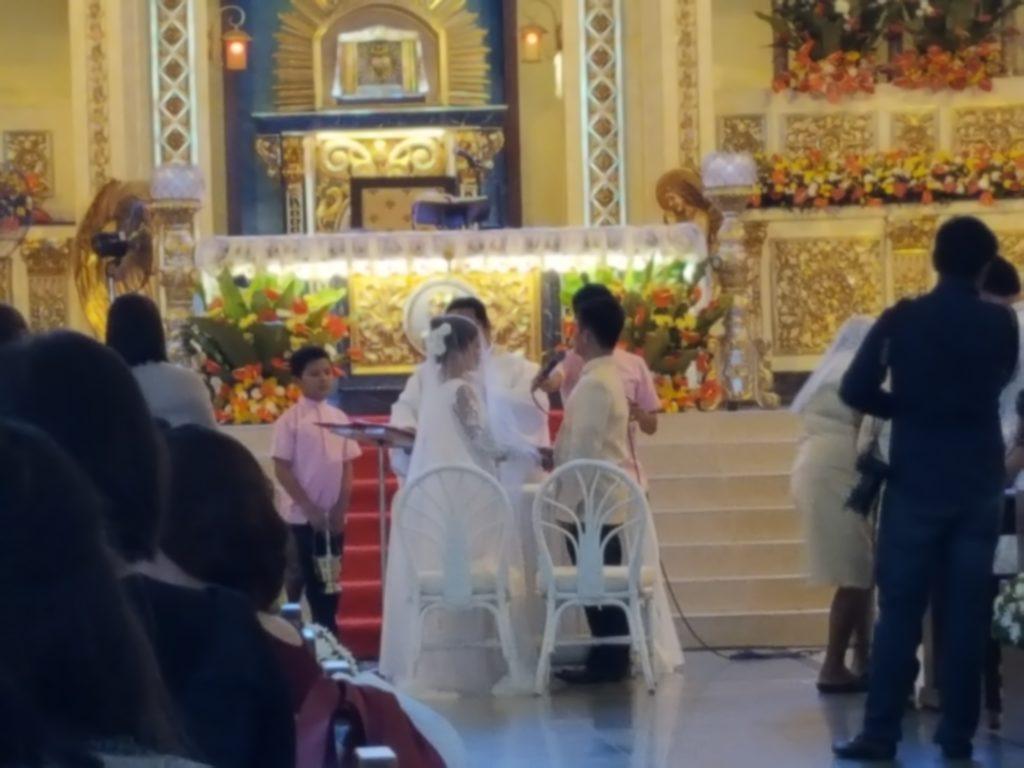 フィリピンでの結婚式04
