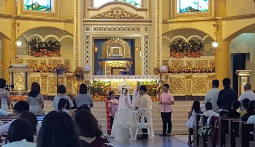 【実録レポート24時】フィリピン・セブで結婚式に潜入!