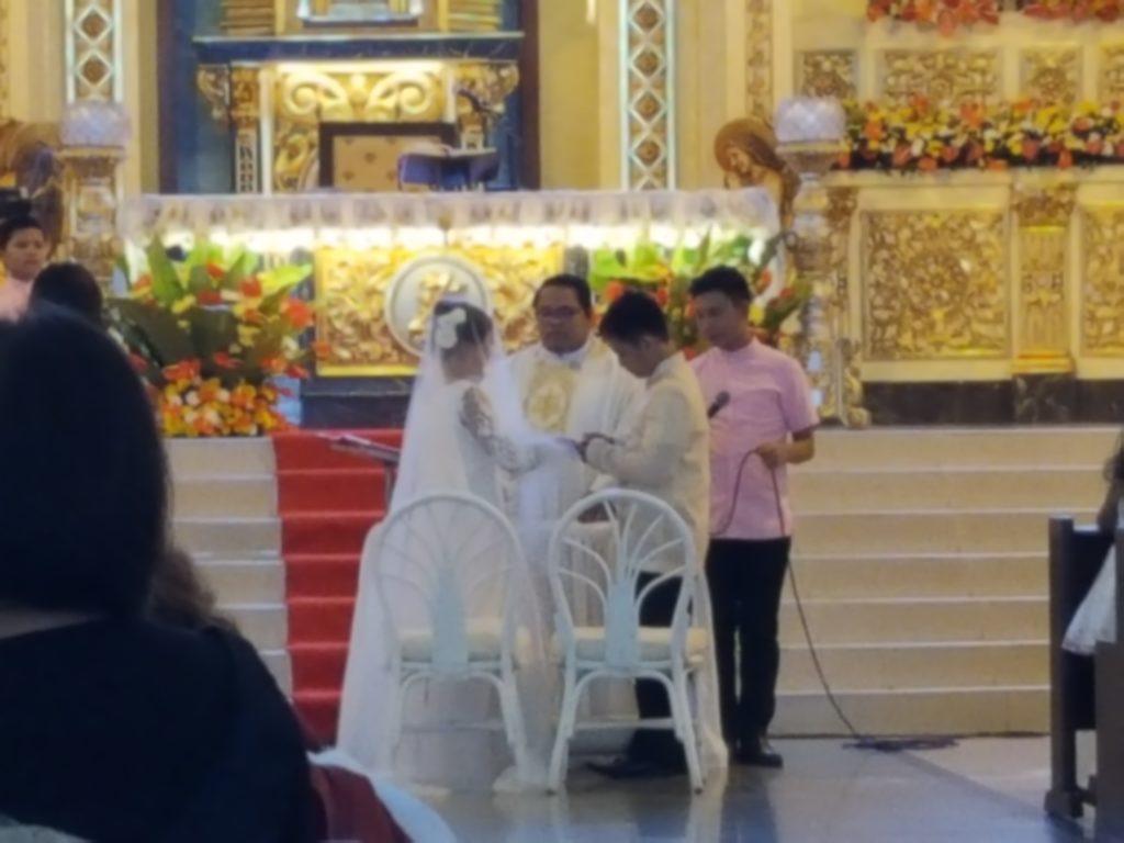 フィリピンでの結婚式05