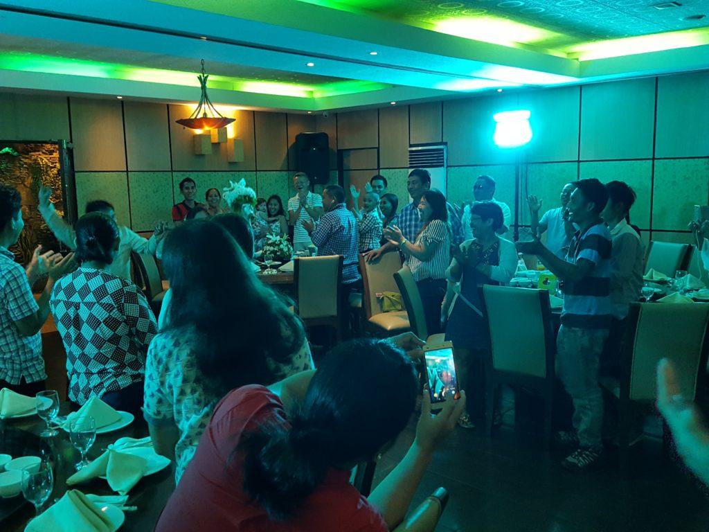 フィリピンでの披露宴01