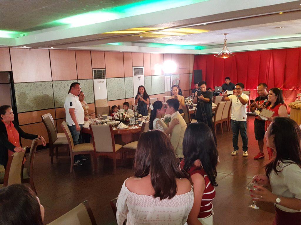フィリピンでの披露宴07