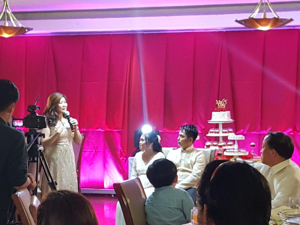 フィリピンでの披露宴04