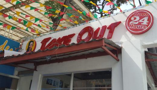 店名がズバリ『VENUS TAKE OUT』でも安心してください!店の中で食事できますから!