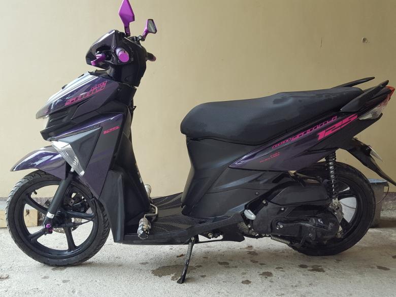 フィリピン バイクの洗車11