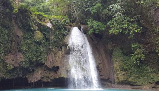 【セブおすすめ定番観光地】カワサン滝(Kawasan Falls)は評判通り凄かった!