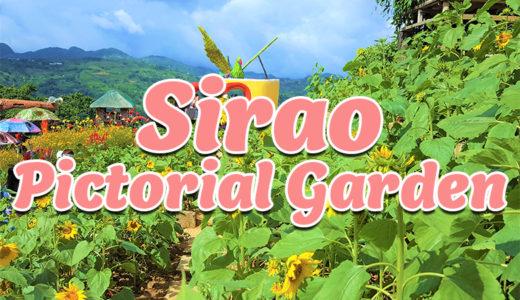 シラオエリアのフラワーパーク第2弾『シラオ ピクトリアル ガーデン(Sirao Pictorial Garden)』※動画有り