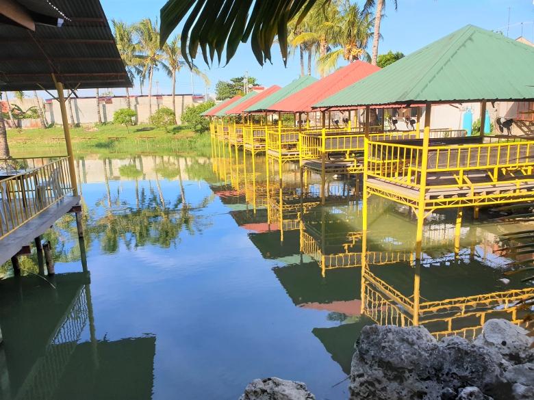 セブ・マクタン島・クンガンレストラン(Kum Kang Restaurant)サムギョプサル食べ放題&魚釣り