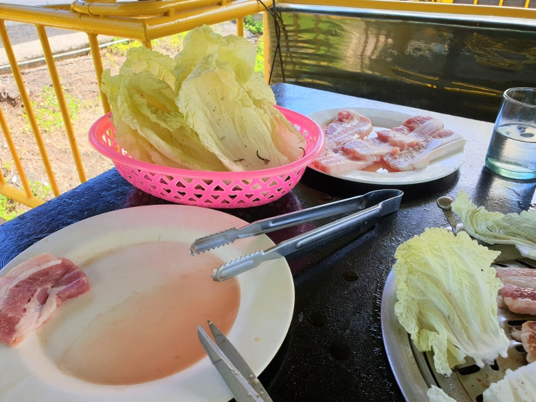 セブ・マクタン島・クンガンレストラン(Kum Kang Restaurant)サムギョプサル食べ放題