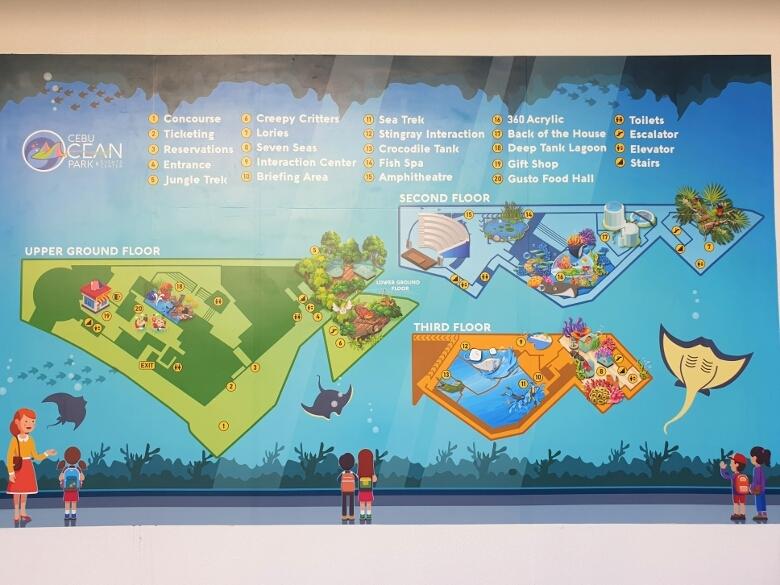 セブ・オーシャンパーク(Cebu Ocean Park)マップ・地図
