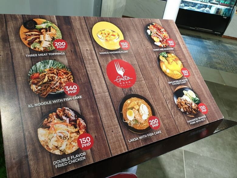 セブ・オーシャンパーク(Cebu Ocean Park)食事コーナー
